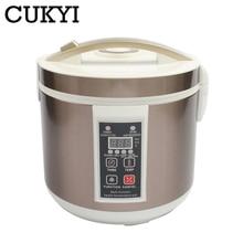 CUKYI 5L/6L автоматический ферментер для черного чеснока, домашний самодельный горшок для заимолиза, 110 В, 220 В, черный чеснок, ферментирующая машина, ЕС