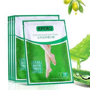 3pair=6PCS Baby Foot Mask Exfoliating Feet Mask Feet Cream Moisturizing Smooth Calluses Foot Peeling Mask Spa Socks for Pedicure 1