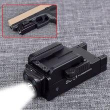 Перезаряжаемые тактический мини пистолет Флэш светильник для
