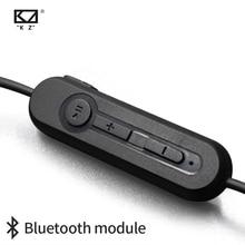 KZ ZST/ZS3/ZS5/AS10/ZS6/ZS10/ZSA/ES4 Bluetooth 4.2 kablosuz yükseltme modülü kablosu ayrılabilir kablo geçerlidir KZ orijinal kulaklıklar