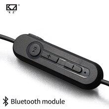 Kz zst/zs3/zs5/as10/zs6/zs10/zsa/es4 bluetooth 4.2 módulo de atualização sem fio cabo destacável aplica kz fones de ouvido originais