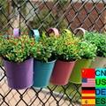 1/2 stücke Hängen Girlande Blume Topf Garten Hängen Balkon Blume Halter Blumen Pflanzer Töpfe Home Dekorationen 10 Farben-in Blumentöpfe & Pflanzkübel aus Heim und Garten bei