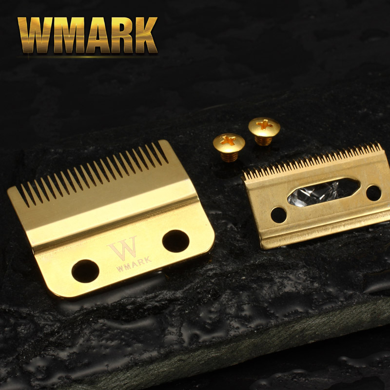 WMARK W-2 Professional 2-Hole Clipper Blade Movable Blade With Screw Replacement Blade High Quanlity Material