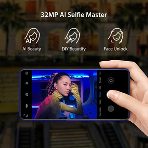 Image 5 - UMIDIGI F2 إصدار عالمي من أندرويد 10 بشاشة 6.53 بوصة فائقة الوضوح + 6 جيجابايت وذاكرة وصول عشوائي 128 جيجابايت وكاميرا رباعية AI بدقة 32 ميجابكسل مع خاصية Selfie Helio P70 وبطارية بقدرة 5150 مللي أمبير في الساعة