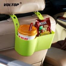 Автомобильный держатель чашки для органайзера держатели для напитков автомобильные аксессуары многофункциональные продовольственные полки спинка сиденья регулируемые автомобильные принадлежности