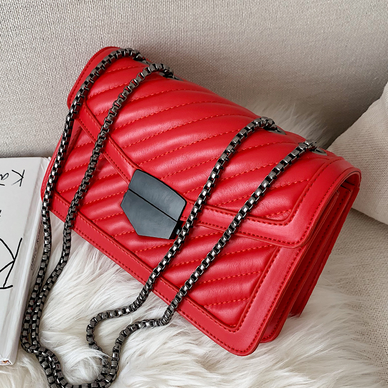 Quality Vintage Soft PU Leather Women's Shoulder Crossbody Bags 2020 Fashion Handbag Clutch Ladies Messenger Bag Female Purse