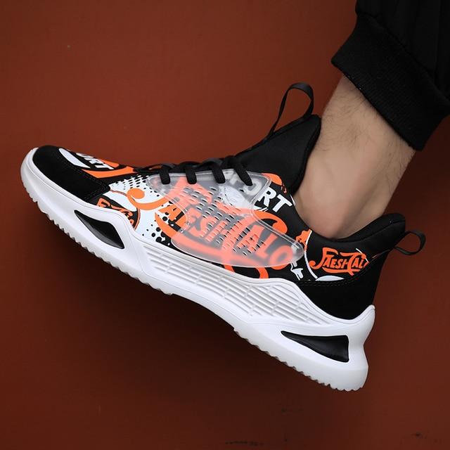 Men Dad Shoes Four Season Breathable Casual Shoes Men Design Hot Sale Men Trainers Shoes New