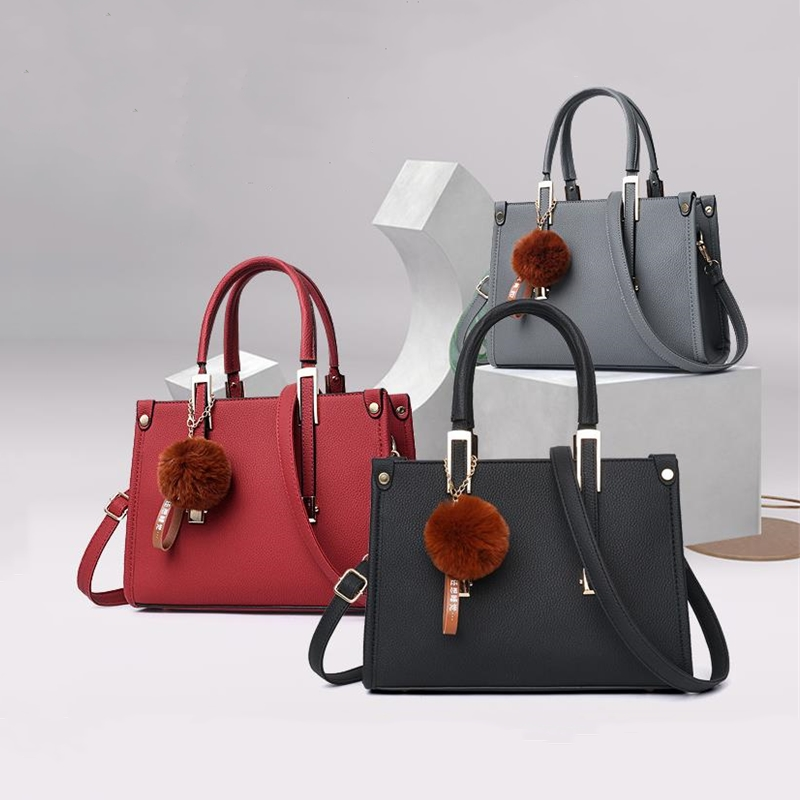 LKEEP Mini Boston Shoulder Bag Women Leather Long Handbags Female Crossbody Messenger Bag Bolsa Sac Fashion Ladies Small Tote 2