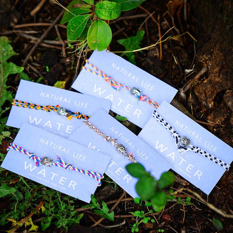 Bohemia Tibetan Buddha Head Woven Bracelet For Couple Handmade Multicolor Rope Braided Charm Card Bracelet Women Fashion Gift