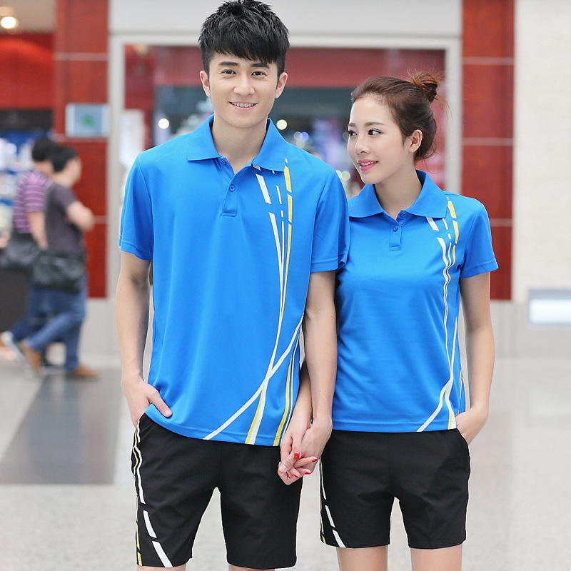 Summer Short-sleeved Middle School Students Sports Casual School Uniform Outdoor Sports Men And Women Group Clothes Set Fashion