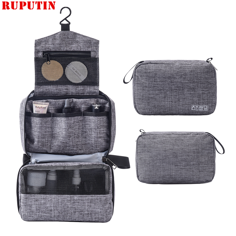 Men Women Hanging Cosmetic Bag Multifunction Travel Organizer Toiletry Wash Make Up Storage Pouch Beautician Folding Makeup Bags