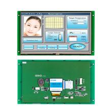 5 Industrial LCD display module with CPU & serial interface, work any MCU/ microcontroller