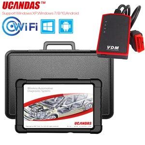 Image 1 - UCANDAS VDM OBD2 Professional Scanner Completa del Sistema Obd 2 Scanner Automotive WIFI Multi lingua Strumento di Diagnostica Auto Aggiornamento Gratuito