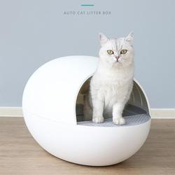 Automatic Cat Litter Basin Toilet Cleaner Electric Fully Enclosed Smart Cat Shovel Deodorant Cat Litter Box Pet Products