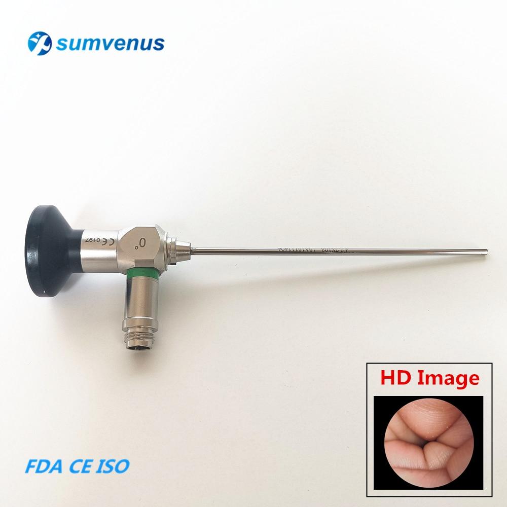 HD 2.7mm 3mm 4mm 0 30 Degree Medical Surgical Rigid Endoscope Otoscope Otoscopy Ear Endoscopy Camera Autoclave