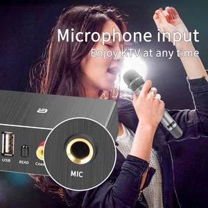 Image 5 - DAC Decoder Adapter Bluetooth 5.0 Receiver Audio Amp U disk Player KTV microphone Adapter Optical Coaxial To Analog Converter