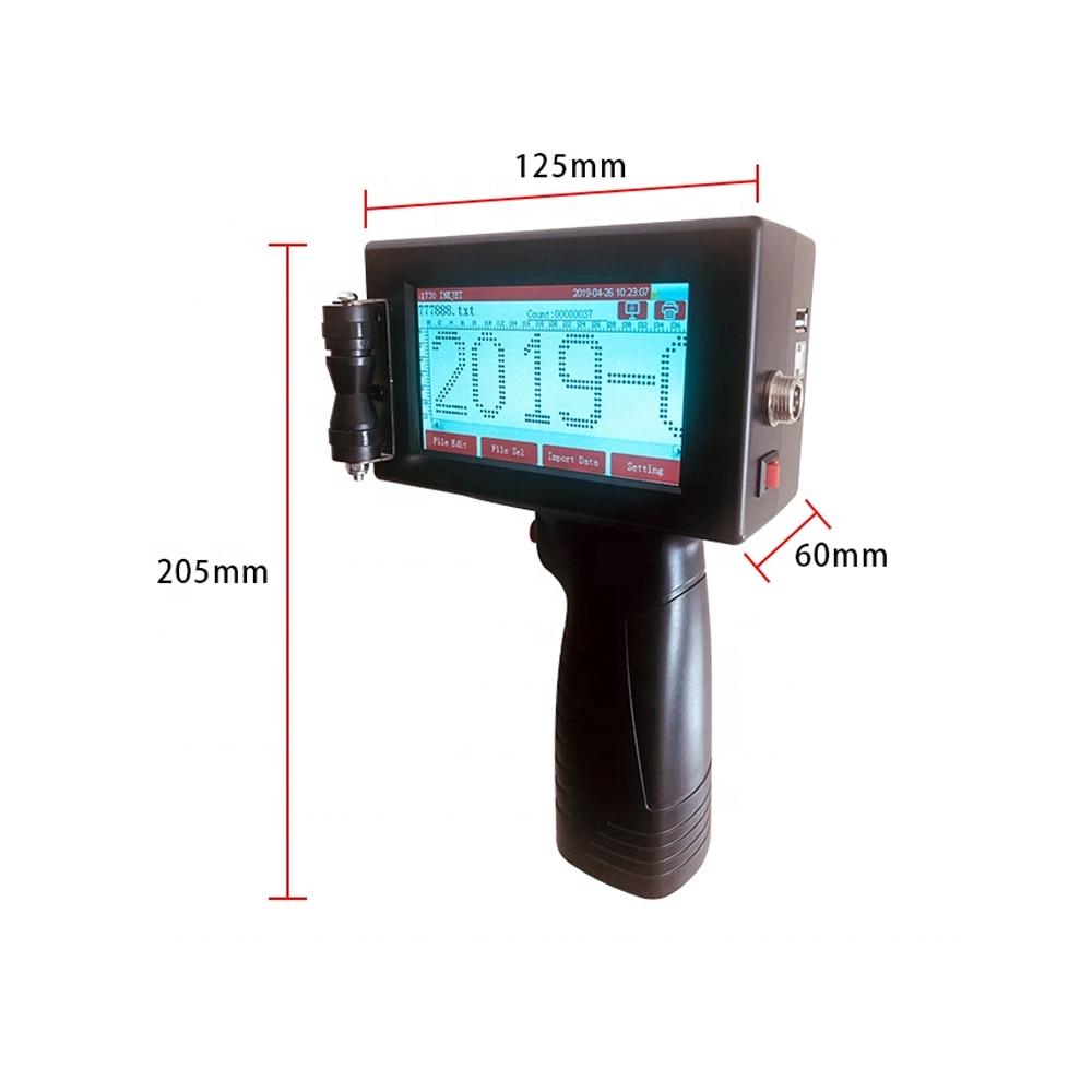 Mobile Portable Hand Jet Handheld Thermal Inkjet Printer For Logo/ Expiry Date/batch Code/ Serial Number/label/barcode /qr Code