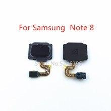 1 Chiếc Ban Đầu Cảm Biến Vân Tay Flex Dây Cáp Dành Cho Samsung Galaxy Note 8 Note8 SM N950 N950F N950U N950N N9500 Touch ID thay Thế