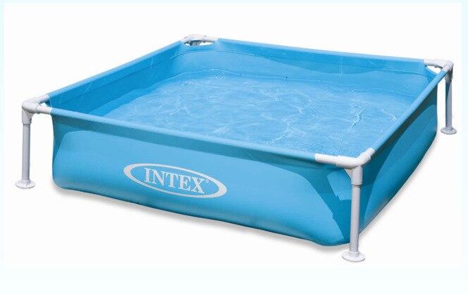 Piscina inflável do jogo das crianças da piscina da cremalheira da tubulação-2