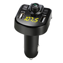 Bluetooth Auto FM Transmitter Drahtlose Radio Adapter USB Ladegerät Mp3 Player Car Kit Musik Player Auto Zubehör(China)