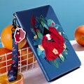 Rot Schönheit Mädchen für iPad Air 3rd 10,5 Fall Intelligente Abdeckung Weiche TPU silikon Zurück Abdeckung für iPad Air 3 10,5 Zoll 2019 A2123 tablet
