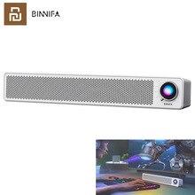 Youpin BINNIFA altoparlante da tavolo Bluetooth doppio corno connessione Wireless Computer microfono TV PC Theater SPDIF/AUX