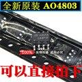10 шт./лот Новый AO4803 AO4803A SMD SOP-8 чип питания