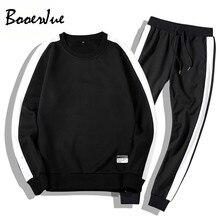 Tracksuits Men Sportsuit Sets Sweatshirts Set Clothing+Pants Hoodies Plus Size Moleton Masculino Sweatsuit Ropa Para Hombre
