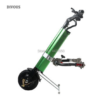 Free shipping Sports wheelchair trailer for manual wheelchair drive parts for disabled handicapped wheelchair with CE ISO