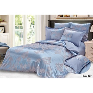 Bed linen Rory color: blue (family)