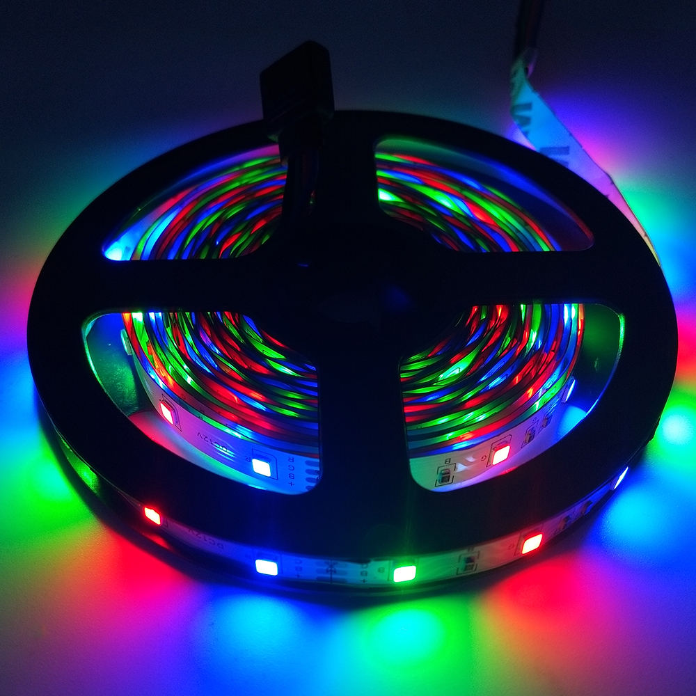 DC 12V Led Light Tape 2835 RGB 5M 60LED/M  Led Light Strip Lamp SMD Flexible TV Backlight Led Strip