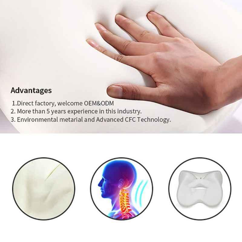 1 adet lomber destek yastığı arka yastık bellek köpük duruş düzeltici geri destek ve sırt ağrısı rahatlama