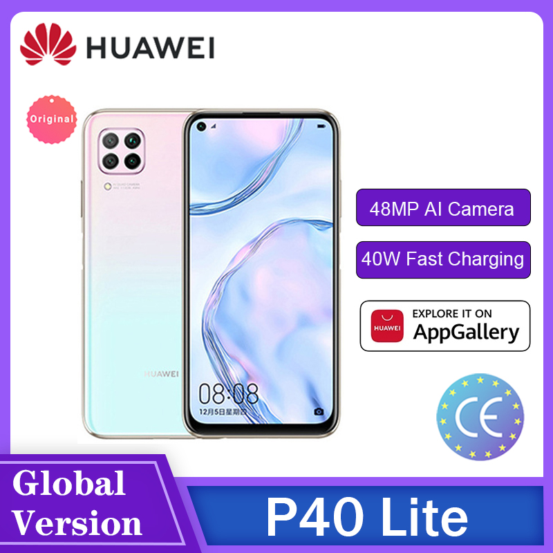 HUAWEI Hisilicon Kirin 810Octa Core P40 Lite/P40 Lite E 6GB 128GB Smartphone 48MP AI Kameras 6.4 FHD Bildschirm 40W QCС мартфоны