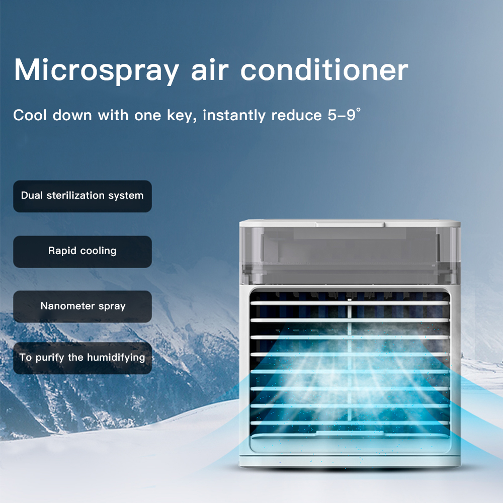 Air Conditioner Portable Household Air Cooler Personal Space Quick Easy Way To Cool Air Conditioner Fan Device Home Office Desk