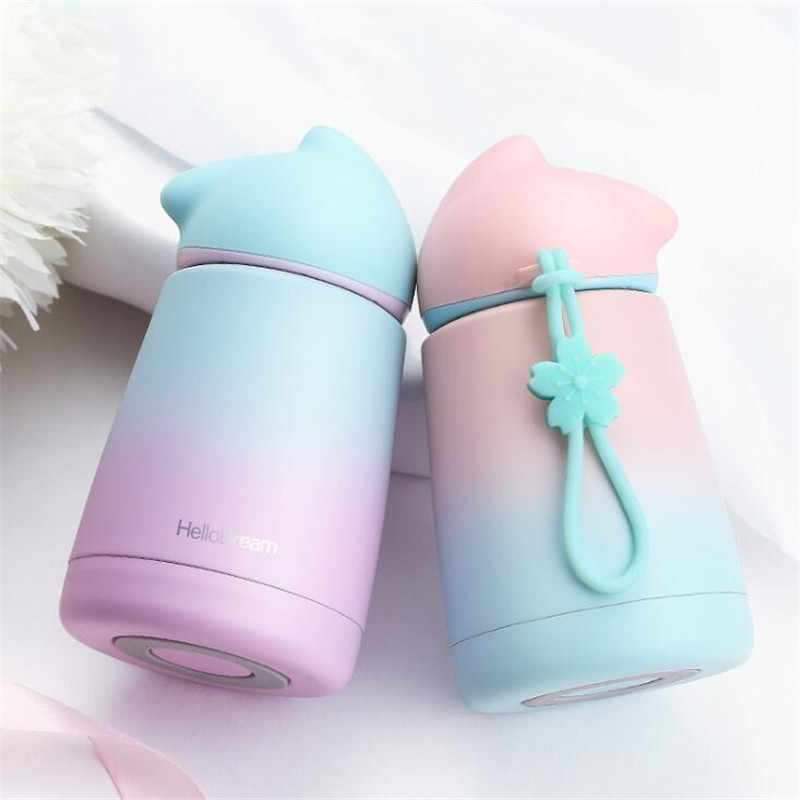 Rabbit Thermo Cup Stainless Steel kid Thermos bottle For water Thermo Mug Cute Thermal vacuum flask child Tumbler