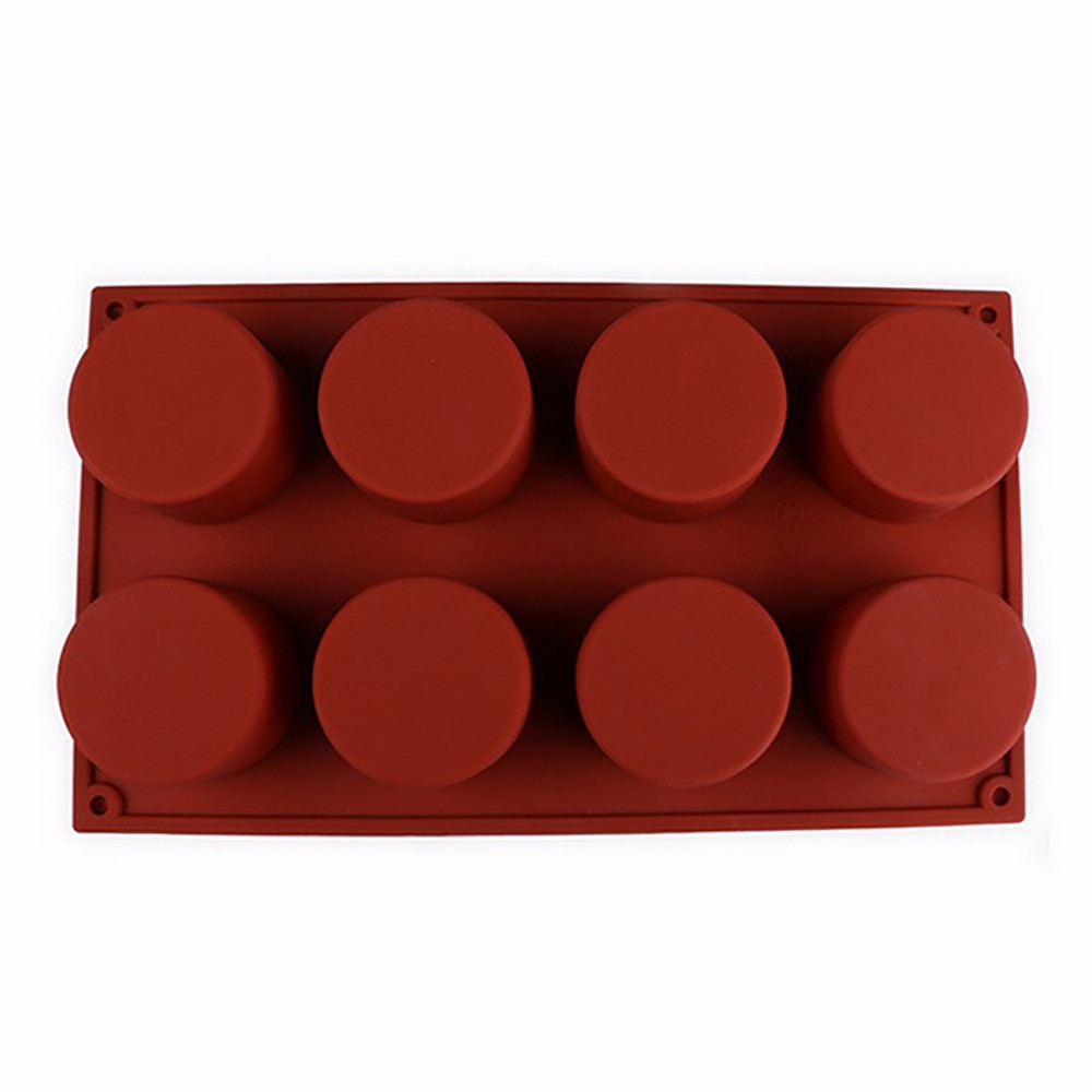 Image 2 - Silicone Mold For Cake Pastry Baking Round Jelly Pudding Soap Form Ice Cake Decoration Tool Disc Bread Biscuit Mould #15-in Cake Molds from Home & Garden