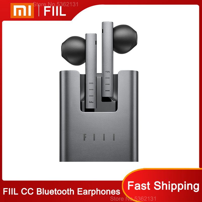 Youpin Bluetooth-Earphones TWS Noise-Reduction Sport with Microphone for CC Wireless