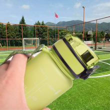 Soffe Elastic Cover With Rope Water Bottle High Quality Tritan Plastic Free Bpa Portable Outdoors Sport Drinking
