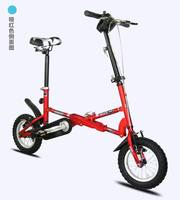 new 12 inch mini folding bicycle telescopic mini bicycle one second folding portable bicycle