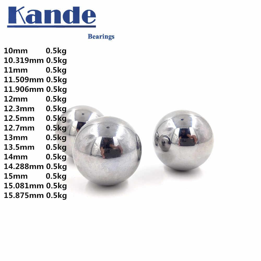 100 PCS Grade 10 G10 Hardened Chrome Steel Bearing Balls 12mm