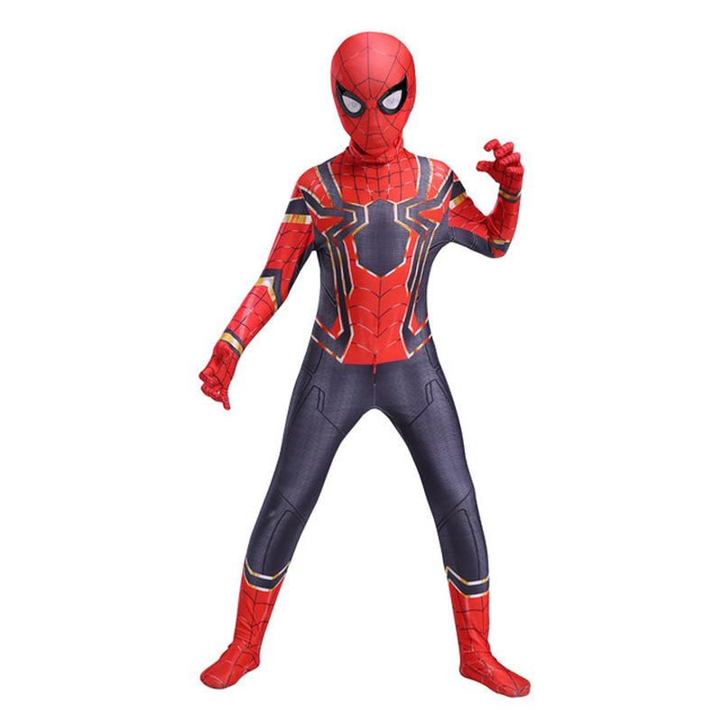 Extraordinary Spider-Man Pantyhose Children's Heroes Returned Siamese Anime Cosplay Costumes and Masks 1
