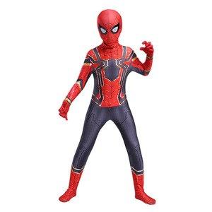 Необычные детские колготки «Человек-паук», «герои», «вернутые сиамские» костюмы и маски для косплея