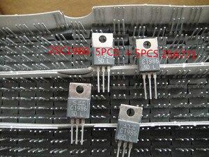 Image 1 - Новые оригинальные 2SC1986 5 шт. + 5 шт. 2SA771
