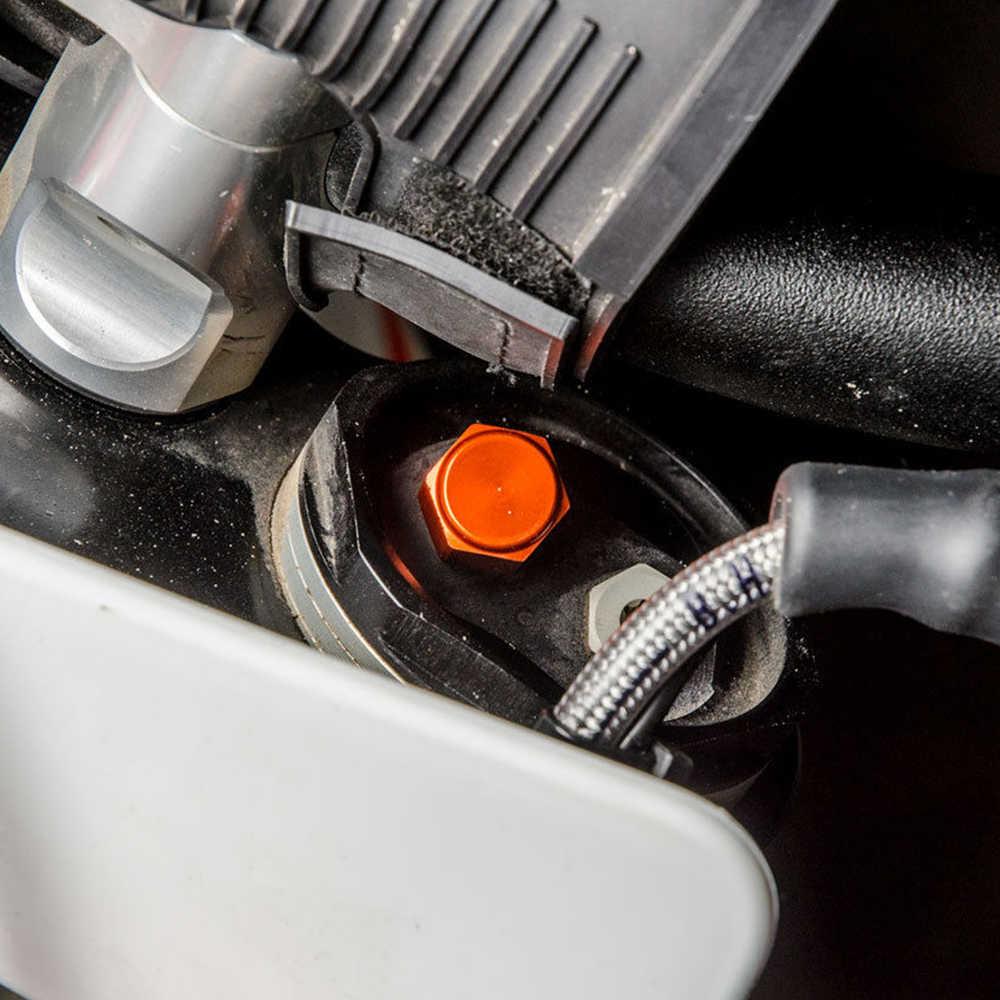 Garpu Shock Adjuster Tombol Tutup Katup untuk KTM SXF SX XCF 125 250 350 450 150 2017 2018 2019 SX 50 65 2017-2020 untuk Husqvarna FC TC
