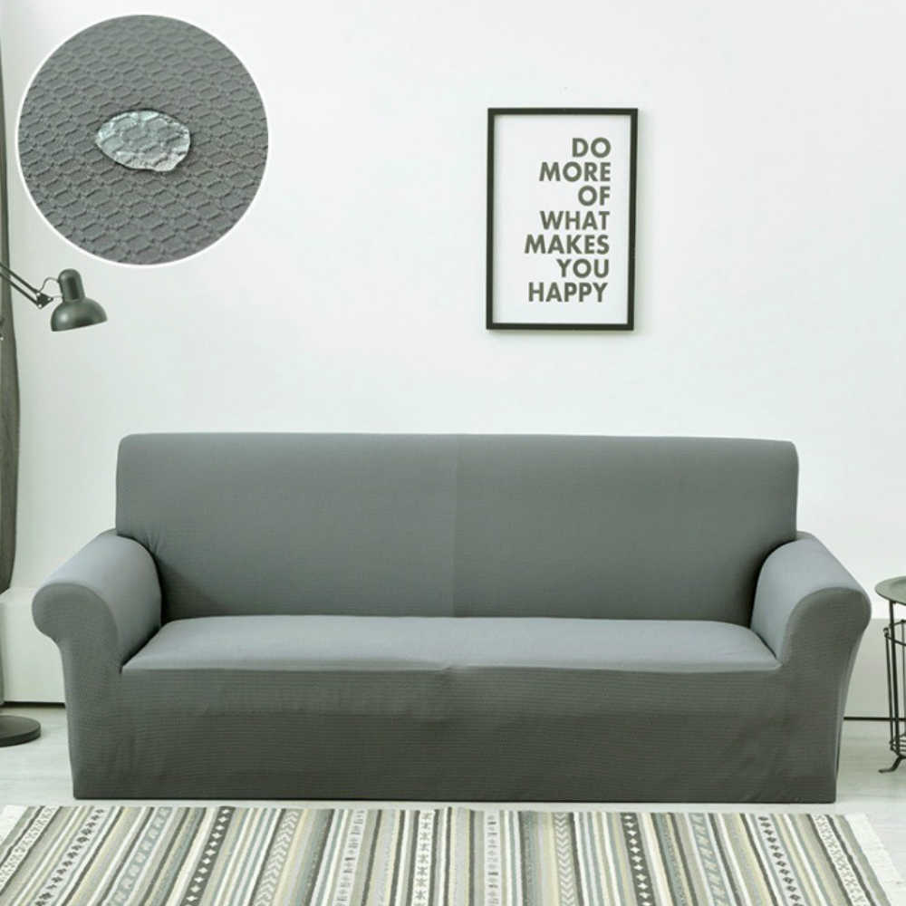 Water Proof Anti-scratch Sofa Cover Funda Sofa Couch Cover Solid Colors Sofa Covers for Living Room S/M/L/XL