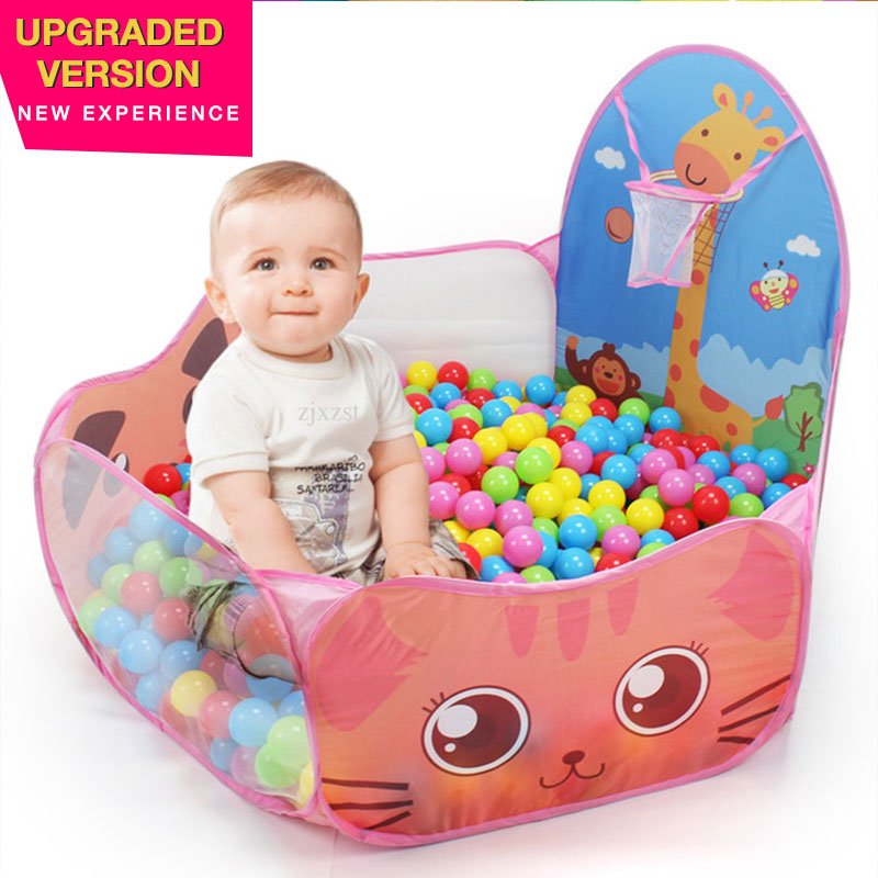 Foldable Playpens Game Pool Play Pool Baby Playpen Easy And Cheap Ocean Ball Pool Game Toddler Ball Pit For Kids Gifts