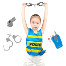 Police Cosplay Children's 3-To-7-Years-Old Peripheral Party-Toy Firefighter Birthday-Gift
