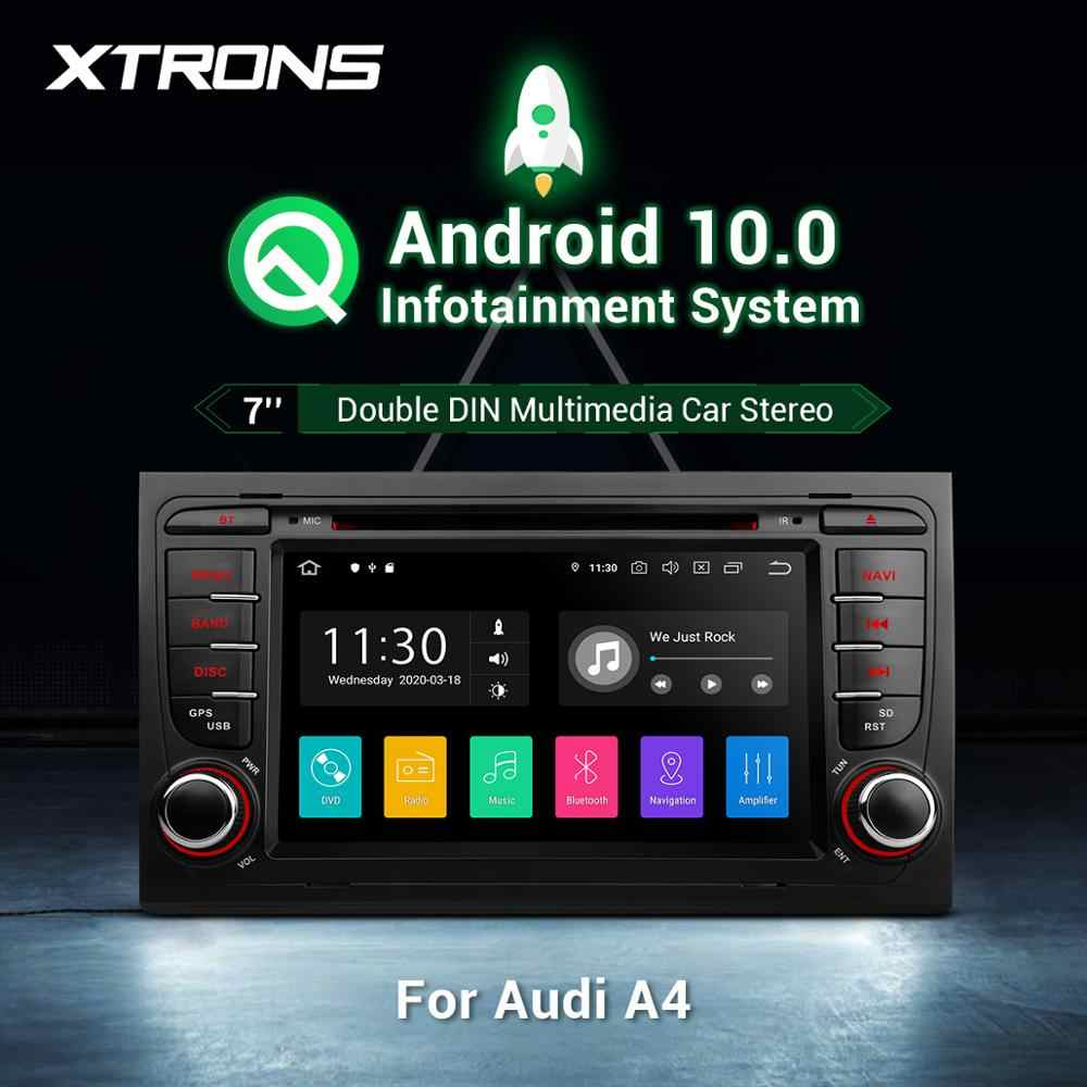 "XTRONS 7 ""Android 10.0 Autoradio DVD Player per Audi A4 S4 RS4 2002 2003 2004 2005-2008 per SEAT Exeo OBD di Navigazione GPS WIFI FM"