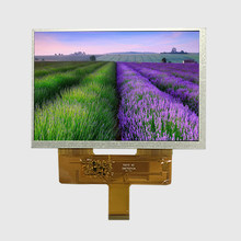7.0 inch 800*480 LVDS interface Wide temperature high brightness IPS TFT LCD display with capacitive touch panel