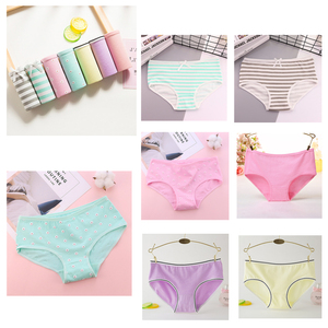 Image 4 - OLN 7pcs/lot Womens Panties Cotton printing girls briefs women everyday Underwear Sexy Lingerie High Quality Ladies Underpants